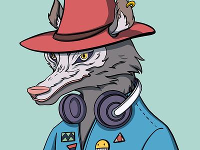 Mr G.W character design icon illustration nft avatar