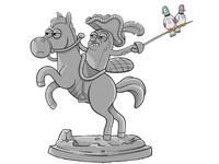 Quest Animal Statue