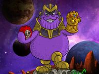 Thanos Grimace mashup!!