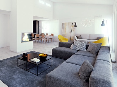 Interior visualization rendering 3d architecture visualization architectural visualization 3dsmax v-ray interior design