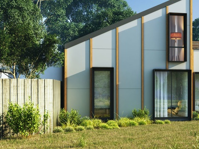 Exterior Rendering australia architecture 3d view visualization 3d modeling interior cg rendering 3d