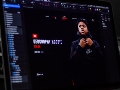 100 Thieves Website Design Concept