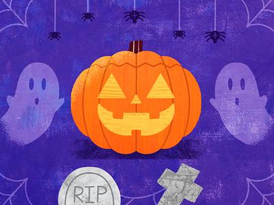 Pumpkin 🎃 pumpkin halloween procreate design illustration dribbble artwork art