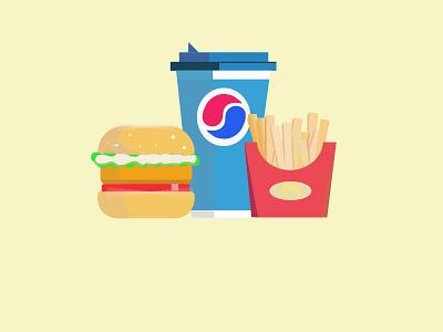 美食 illustration
