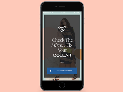 Collar | iOS E-Commerce App user interface app design user experience ecommerce ios