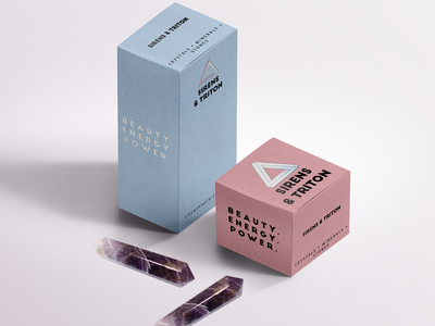 Healing Crystal Packaging package design ecommerce crystals packaging boxes package