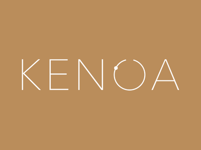 Kenoa | Travel Agency Logo