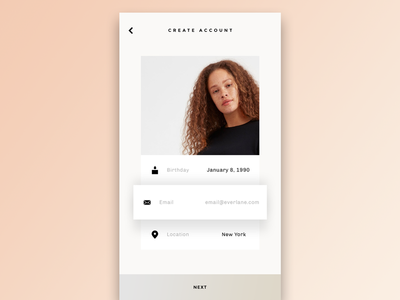 #DailyUI001 Sign-Up