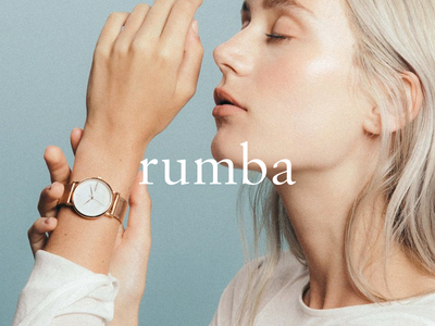 Rumba - Logo Redesign la ny modern time brand watch redesign logo