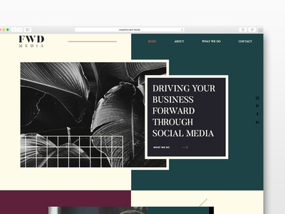 FWD Media Website Design