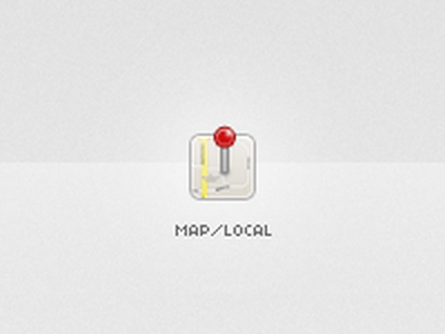 Map Icon icon maps local iphone