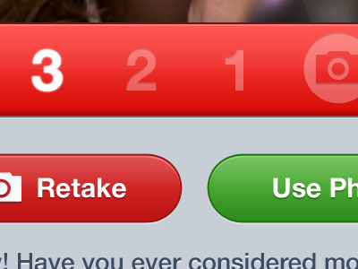 The Final Countdown ui red photo iphone ios