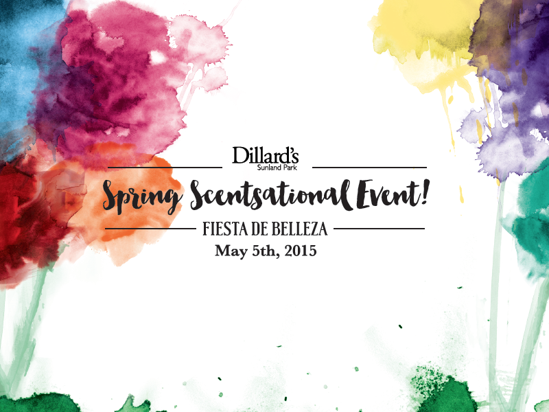 Spring Scentsational Event brush strokes brush color bright make up abstract paint colorful flowers watercolor spring