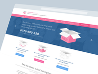 Removals Company - Landing Page