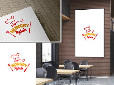 Restaurant logo ux ui logo branding typography design print vector illustration graphic design