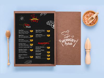 Menu Card Design logo ux ui branding typography design print vector illustration graphic design
