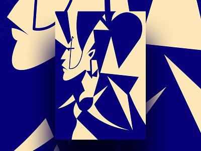 Vector Portrait Illustration - 01 graphics visual illustration shapes design affinity designer