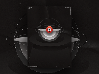 Basic Geometric Shapes & Line Exploration - 26 dark geometric abstract sci fi illustration glow shape gradient graphics design affinity designer visual