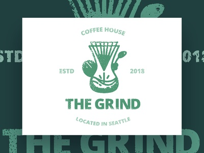 Thirty Logos : The Grind - Final Design