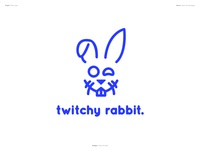 Thirty Logos : Twitchy Rabbit - Design