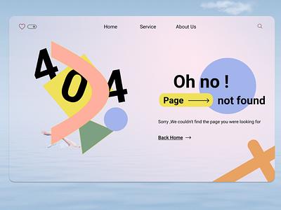 Error 404: Page not found vector pagenotfound error 404 error404 design ux ui figma