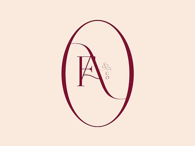 F&Co Favicon icon design logo branding