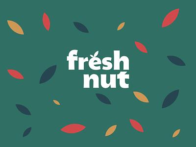 Fresh Food graphic design typography branding logo illustration design