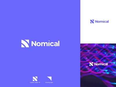 Nomical | Branding | Software Services logo design branding brand strategy brand identity
