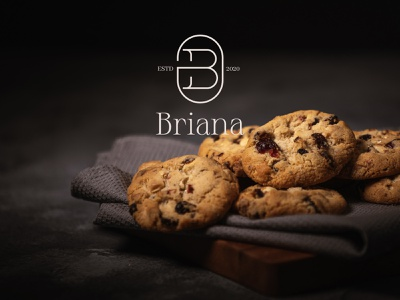 Briana | Branding | Bakery Shop social media content business card marketing content logo design brand identity brand strategy branding