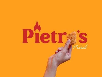 Pietro's | Branding | Fast Food Chain social media content marketing content logo design brand identity brand strategy branding
