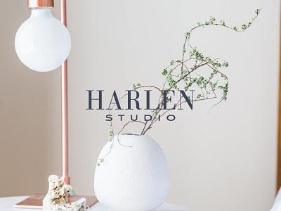 Harlen Studio | Branding | Interior Design marketing content social media content logo design brand identity brand strategy branding