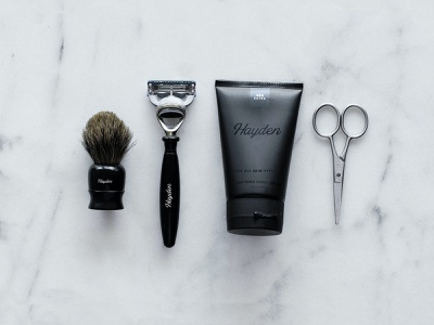 Hayden | Branding | Grooming & Fashion logo design packaging design brand strategy brand identity branding