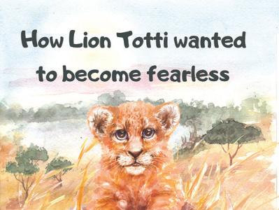 Totti typography illustration