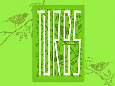 Condensed Lettering - Turdus