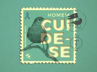 "Turdus ""Novembro Azul"" Stamp"