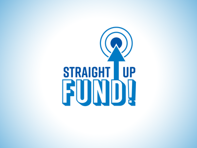 StraightUp Fund logo design logotype vector typography logo branding