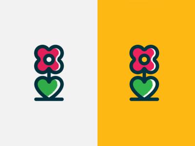 Flower Logo Icon