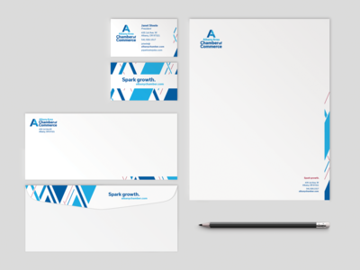 Albany Area Chamber of Commerce Stationery