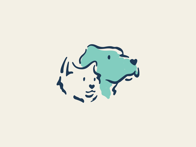 Pet-friendly brand identity pet shelter branding concept branding design design branding logo humane icon illustration cat dog pet care pet pets