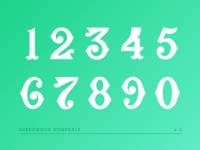 Greenwood Numerals V2