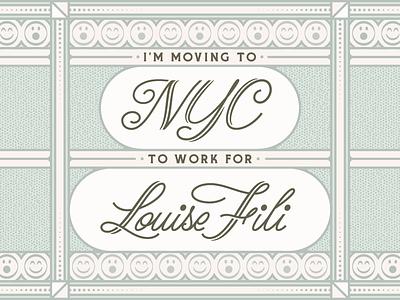 Louise Fili louise fili nyc lettering
