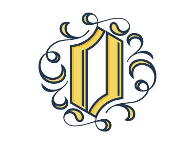 O, Loveland logo typography lettering o custom loveland swashes