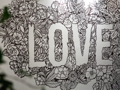 Love Can Mural