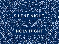 Silent Night Card Detail