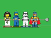 Lego Cord Holders