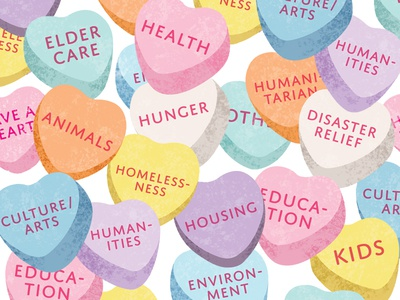 Candy Heart Causes