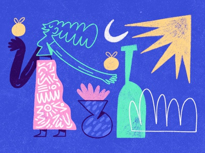 abstract compositions abstract web composition dribbble design character design shapes color character illustration
