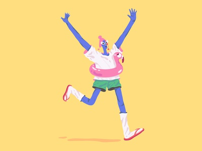 Embrace Unpredictability character design character illustration