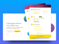Loanflare landing page