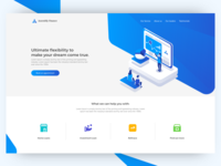 Finace landing page